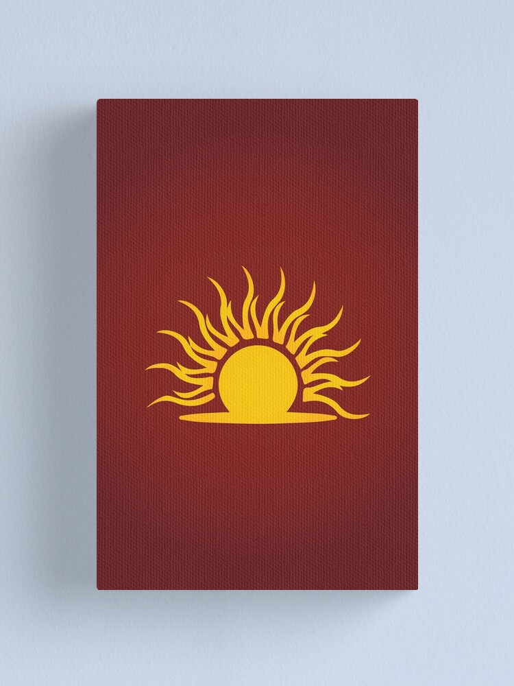 Alternate view of Mythic Dawn Logo Canvas Print