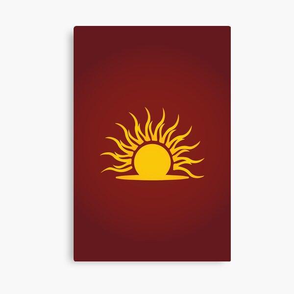 Mythic Dawn Logo Canvas Print