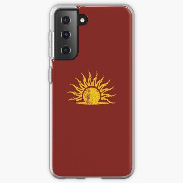 Mythic Dawn Logo · Distressed Samsung Galaxy Soft Case