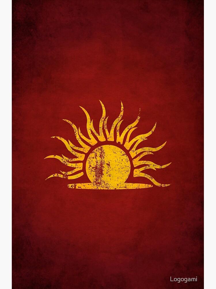 Mythic Dawn Logo · Distressed by Logogami