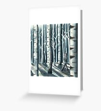 """""""I Don't Get Lost"""" by Robin Galante Greeting Card"""