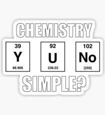 Y U NO SIMPLE? Sticker