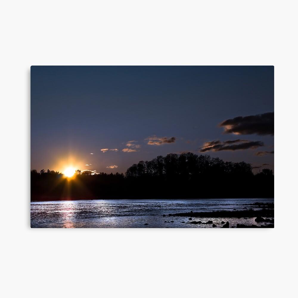 Late Sunset Canvas Print