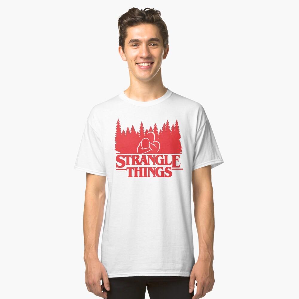 BJJ Stangle Things Classic T-Shirt