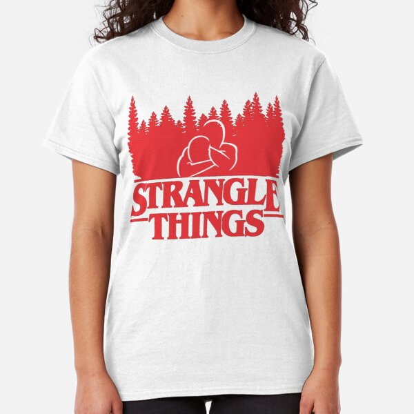 Strangle Things BJJ Classic T-Shirt