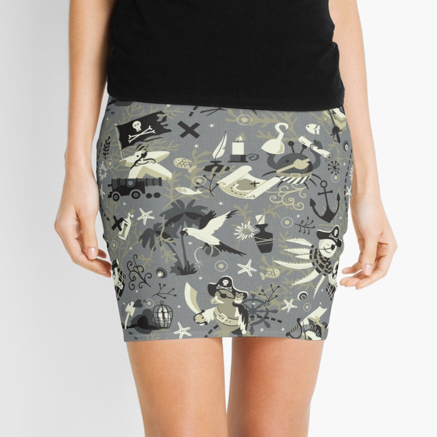Treasure hunters Mini Skirt