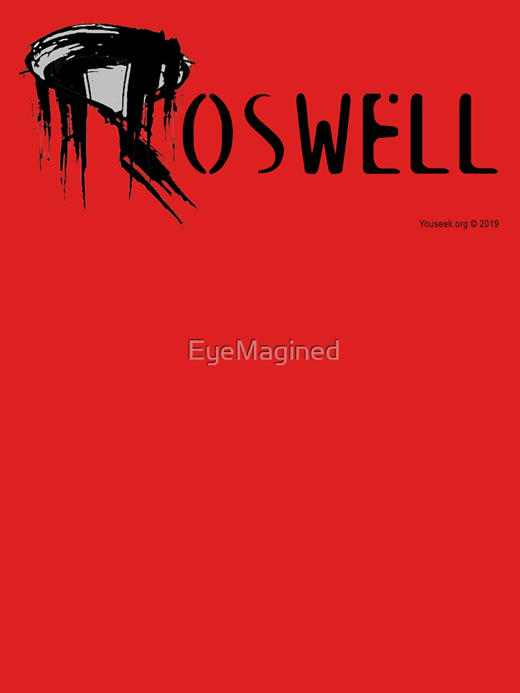 Roswell Abstract by EyeMagined