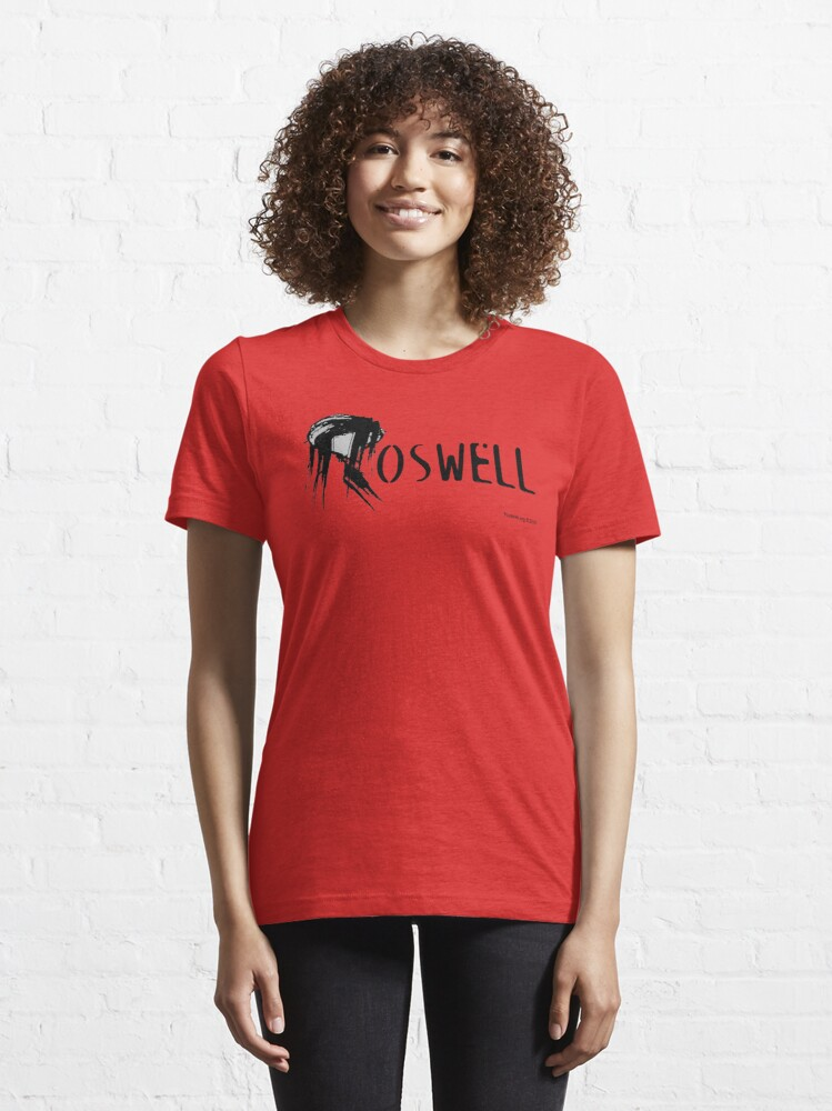 Alternate view of Roswell Abstract Essential T-Shirt