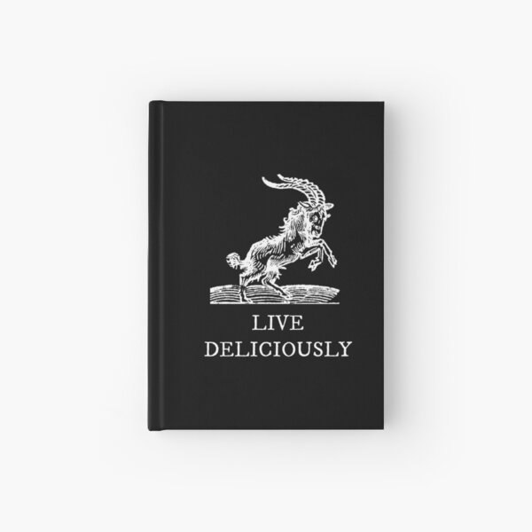 Live Deliciously Hardcover Journal