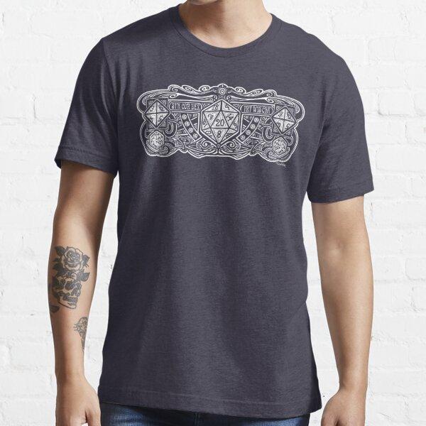 Dice Deco D20 for Dark Items! Essential T-Shirt