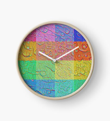 Deep Dreaming of a Color World Clock