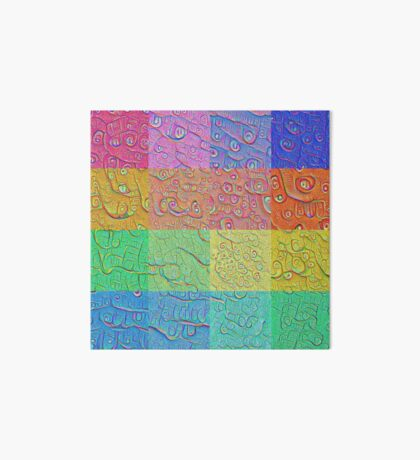 Deep Dreaming of a Color World Art Board Print