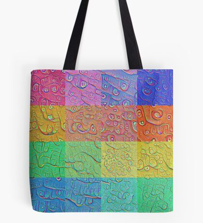 Deep Dreaming of a Color World Tote Bag