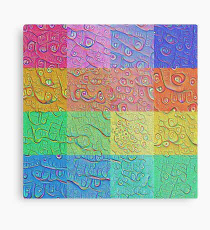 Deep Dreaming of a Color World Metal Print