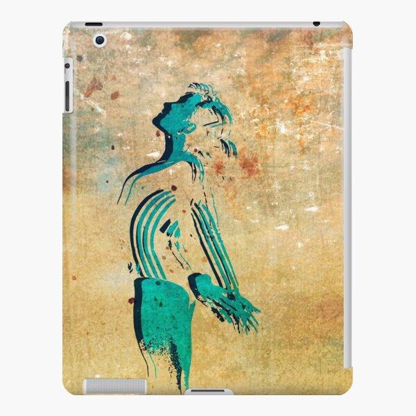 Gymnast Silhouette, Gymnastics Artwork iPad Snap Case