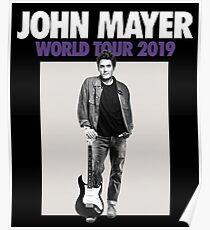 mayer mayer mayer john tour 2019 mampuslo Poster