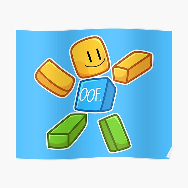 Roblox Kids Posters Redbubble