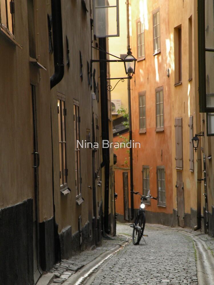 Gamlestan - Old Town - Stockholm, Sweden by Nina Brandin