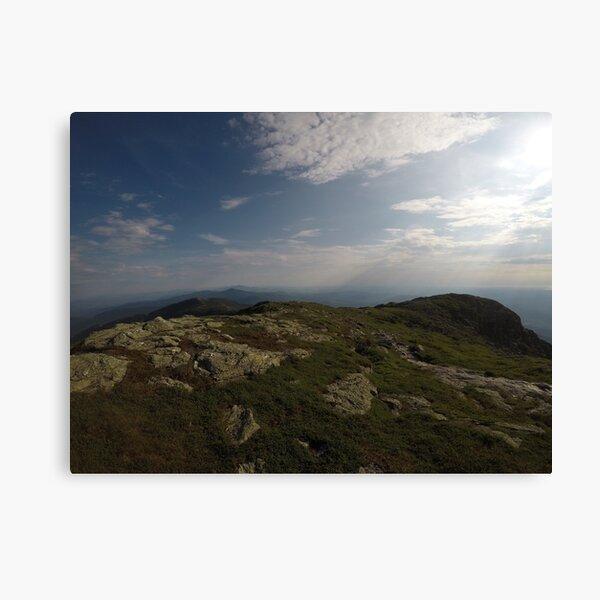 Mount Mansfield summit Canvas Print