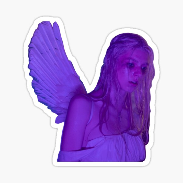 jules sad angel Sticker