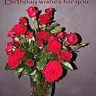Roses for your Birthday by Coloursofnature