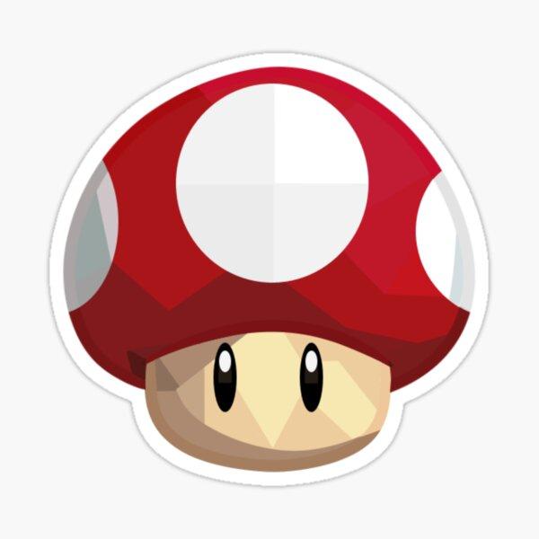 Mushroom Powerup Sticker