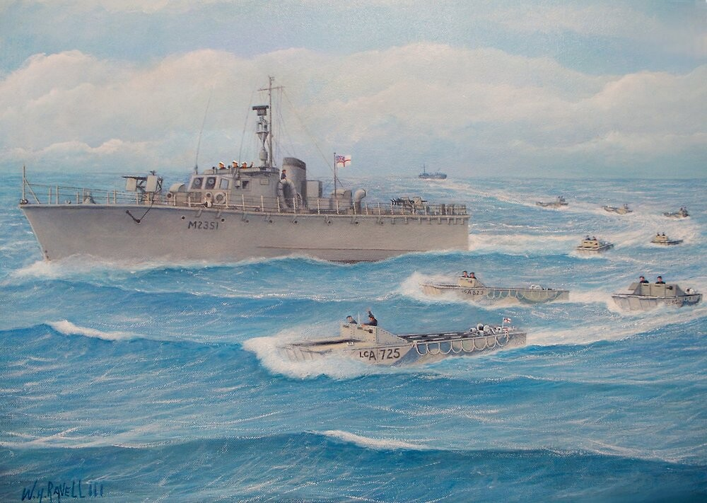 Flotilla 25, Royal Marines, Malaya 1945 by William H. RaVell III