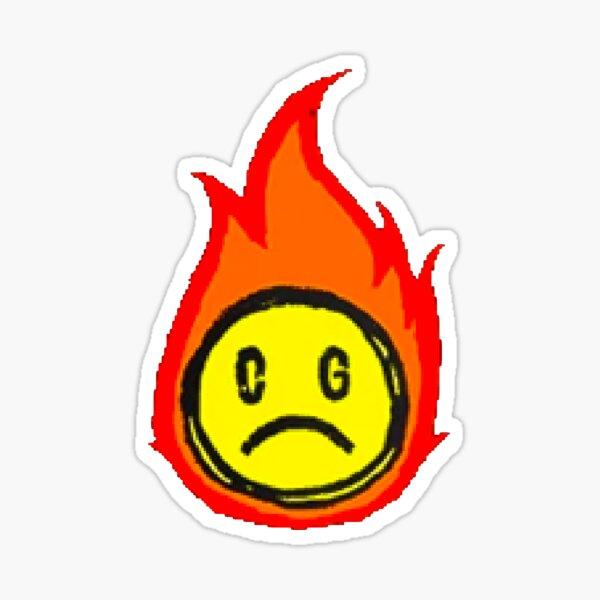 Conan Gray Sad Face Sticker