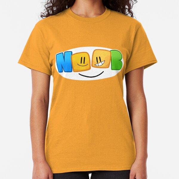 Cute Roblox Noob T Shirts Redbubble - definition a noob roblox