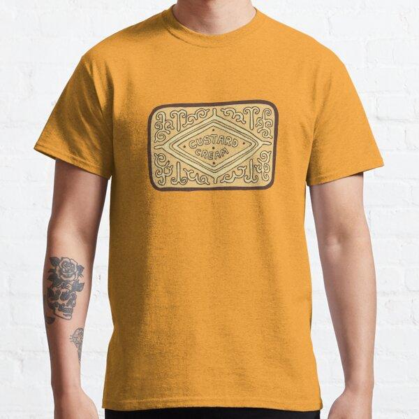 Custard Cream British Biscuit Classic T-Shirt