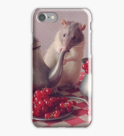 Snoozy in still life :) iPhone Case/Skin
