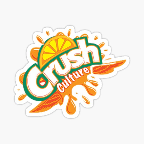 Crush Culture Drink Pegatina