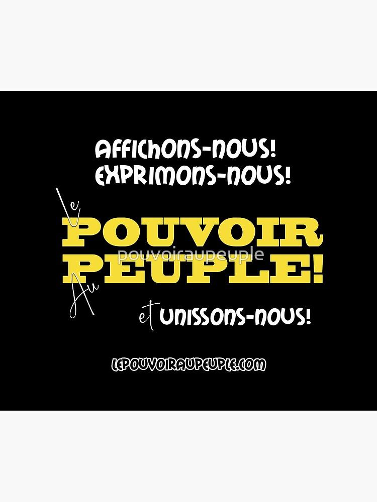 «LE POUVOIR APPARTIENT AU PEUPLE! (II)» par pouvoiraupeuple