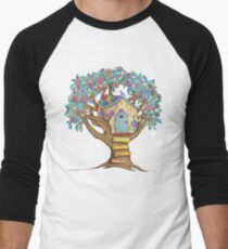 Live Simply, Love Trees Men's Baseball ¾ T-Shirt