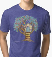 Live Simply, Love Trees Tri-blend T-Shirt