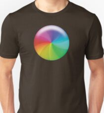 Rainbow Wheel of Death! Unisex T-Shirt