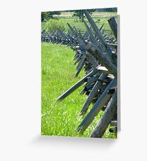 """Good Fences"" Greeting Card"