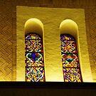 Stained glass by DearMsWildOne