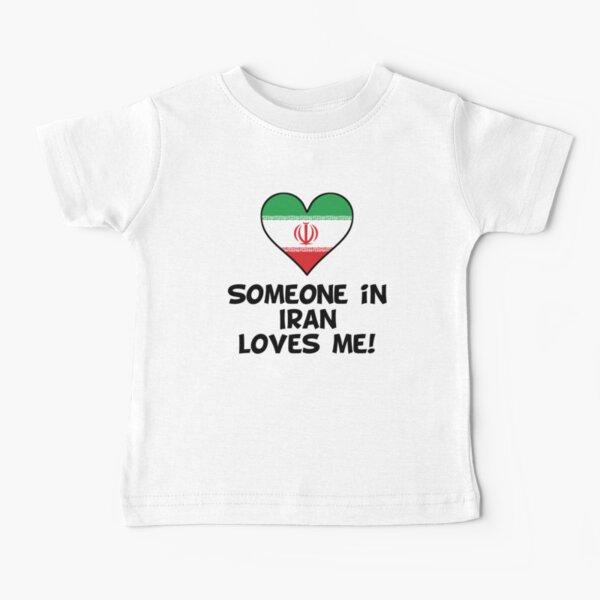 Iran Asia Novelty Themed Baby Grow UK 50/% BRITISH 50/% IRANIAN 100/% ME
