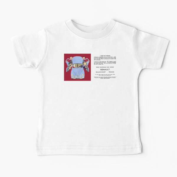 RENAULT 4CV Baby T-Shirt