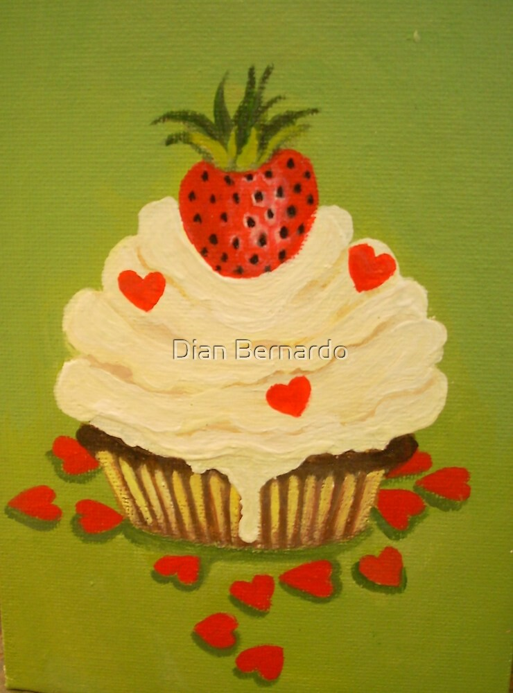 A CUPCAKE BAKED WITH LOVE by Dian Bernardo