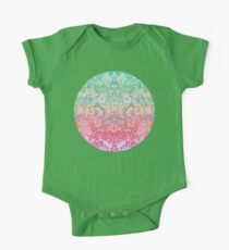 Soft Pastel Rainbow Doodle Kids Clothes