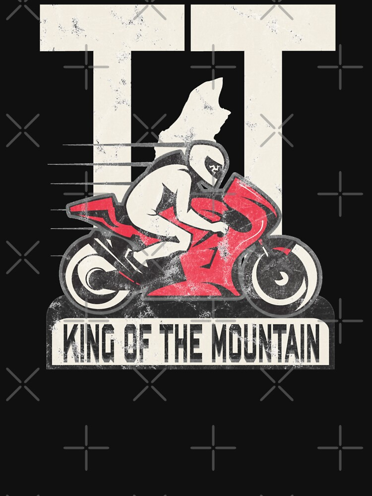 Isle Of Man Manx TT Races King Of The Mountain Tourist Trophy Biker Racing by thespottydogg