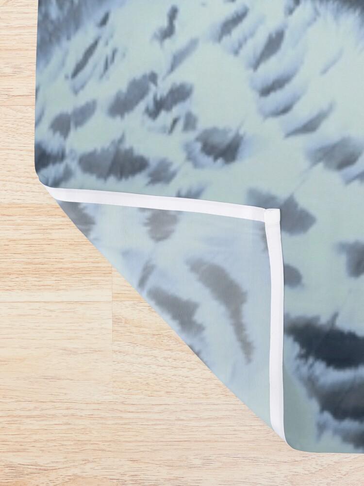 Alternate view of Snowy Owl Forest Bird Yellow Eyes Photo-realistic Wildlife Print Shower Curtain