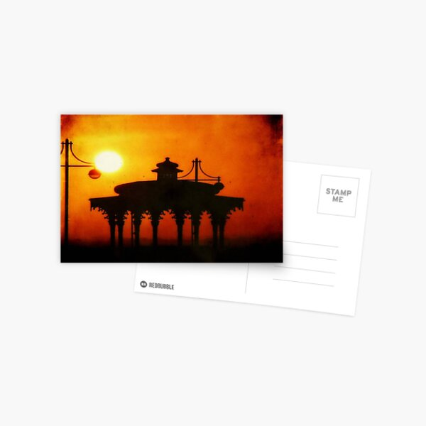 Brighton Sunset ©  Postcard