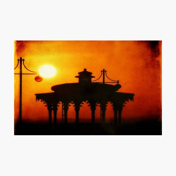 Brighton Sunset ©  Photographic Print