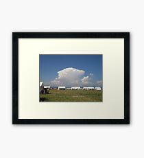 Anime Clouds Framed Print