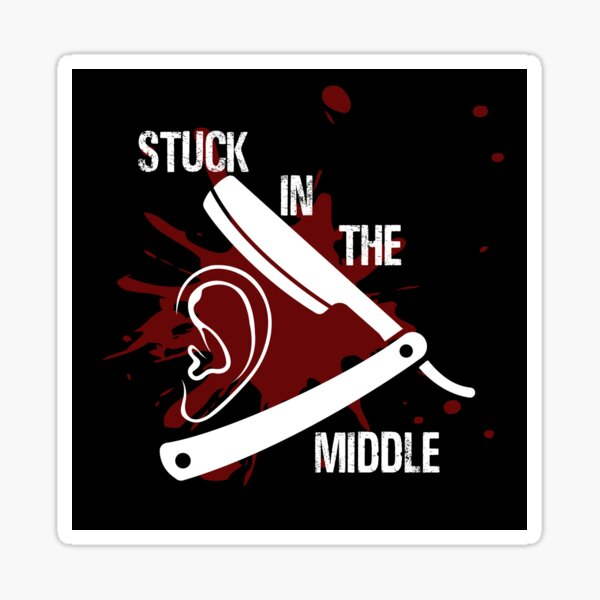 Reservoir Dogs  Stuck in the Middle With You Sticker