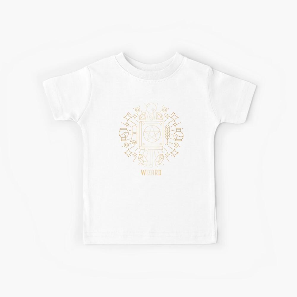 Wizard 2.0 - Oro Camiseta para niños