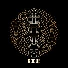 Rogue - Gold by Yaniir